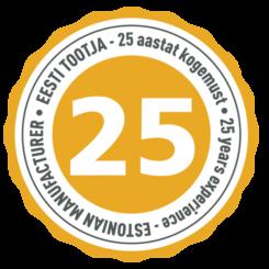 AE_25 aastat logo