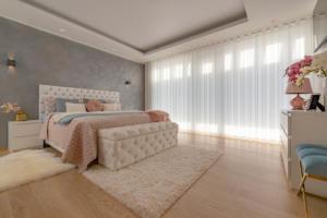 Tekstiilkardinad magamistoale